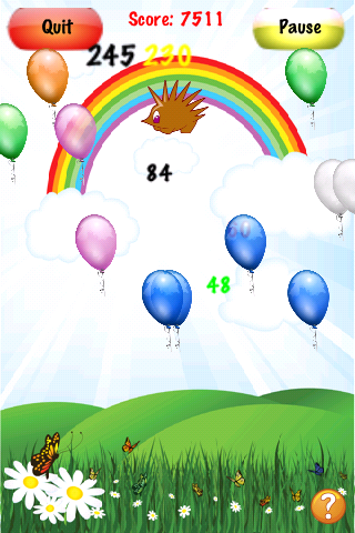 Screenshot Crazy Balloons